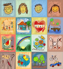 collection of cute drawings of kids children u0027s drawing styles