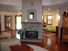 direct vent linear gas fireplaces single sided see through or