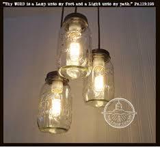 mason jar 3 light chandelier trio new quarts u2013 the lamp goods
