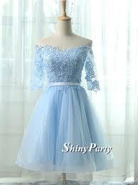 light blue formal dresses cute lace short light blue prom dresses light blue homecoming