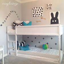 Ikea Boys Bedroom Mommo Design 8 Ways To Customize Ikea Kura Bed Kids Room