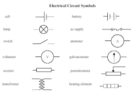 electric circuit diagrams symbols circuit and schematics diagram