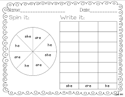 sight word writing practice worksheets free printable and