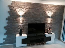 steinwand fã r wohnzimmer die besten 25 wandgestaltung wohnzimmer ideen auf