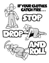 fire safety printable coloring pages coloring