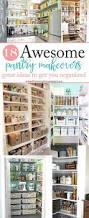 Kitchen Pantry Closet Organization Ideas 182 Best Pantry Organisation Images On Pinterest Pantry Ideas