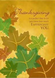 thanksgiving greeting for customers festival collections