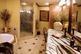 zebra bathroom decorating ideas bathroom with zebra countertop eclectic brown zebra