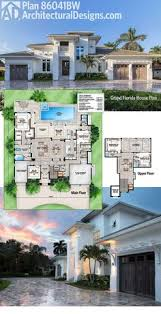 modern florida house plans plan 86020bw florida house plan with open layout architectural
