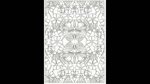 look inside creative haven art nouveau patterns coloring book