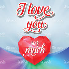imagenes de i love you so much i love you so much lettering and diamond arte vectorial de stock y