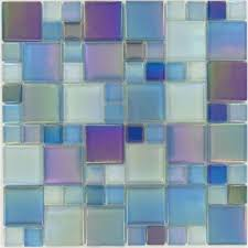 Best Backsplash Tile Images On Pinterest Backsplash Tile - Teal glass tile backsplash