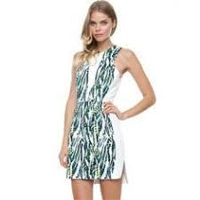 abstract pattern sleeveless dress akin by ginger smart celestial sleeveless dress akin by ginger