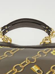 Monogram Charms Louis Vuitton Limited Edition Taupe Monogram Charms Cabas Charms