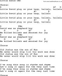 christian childrens song david lyrics and chords