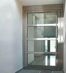 grove wood door with stainless steel design jpg adorable