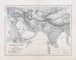 Sw Asia Map by Large Scale Old Map Of Southwest Asia 1866 Old Maps Of Asia