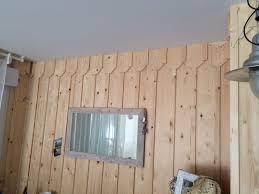 bardage bois chambre bardage bois chambre 2 pose de volige et couvre joints sur murs