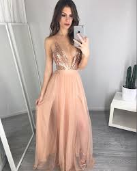 dress cheap v neck sequin prom dress unique prom dress cheap evening