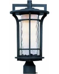outdoor post mount lights amazing deal on maxim aluminium shade oakville 1 light outdoor pole