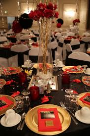 ideas for dessert table red silver u0026 black for female 60th black