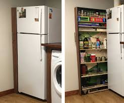 how to build a cabinet around a refrigerator slide out refrigerator cabinet 10 steps with pictures