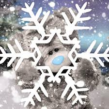 3d holographic large snowflake me to you bear christmas card 2 99