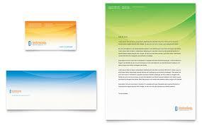 computer u0026 it services business card u0026 letterhead template design