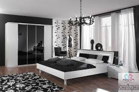 Excellent Black And White Bedroom Decor With Home Interior Design - White bedroom designs