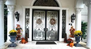 Double Front Entrance Doors by Front Doors Gorgeous Double Exterior Front Door For Great Looks