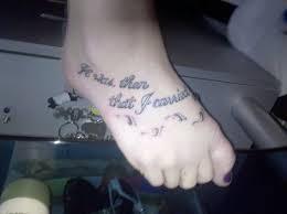 very small footprints tattoo on foot tattoo ideas