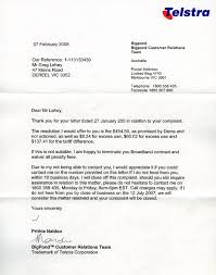 Letter Format For Complaint by 28 Australian Business Letter Template Australian Cover Letters