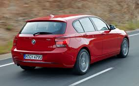2012 bmw 1 series hatch officially unveiled