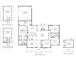 One Storey House Floor Plan by House Plan 2428 B The Springfield B Floor Plan Beautiful One