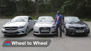 audi a3 vs bmw 3 series bmw 2 series coupe vs mercedes vs audi a3 saloon 4