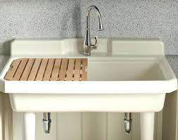 how to install a laundry sink lowes utility sink and cabinet laundry sink and cabinet utility sink