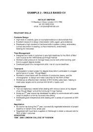 skill based resume exles skill in resume paso evolist co