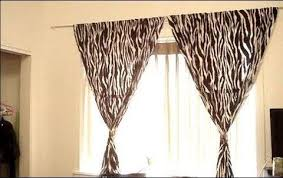 Curtains Without Rods How To Hang Curtains Without Holes In The Wall Hang