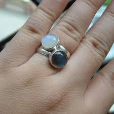 Moonstone Wedding Ring by Buy Rainbow Moonstone Ring Sterling Silver Moonstone Wedding Ring