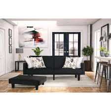bed in the living room futons sofa beds living room furniture the home depot