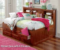 Zayley Bookcase Bedroom Set Bedroom Beautiful Design Of Full Daybed For Home Furniture Ideas