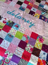 personalized baby clothes quilt personalized baby quilts for sale