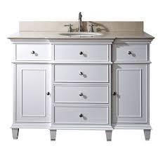 Great  Inch Bathroom Vanity Avanity Windsor Single  Inch - White 48 inch bath vanity