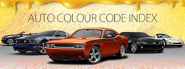 car color code index