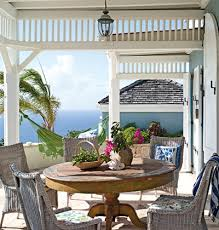 Outdoor Dining Area With No Chairs Cool Veranda A Mismatched Table And Chairs Suit This Outdoor