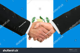 Guatemala Flag Guatemala Flag Business Handshake Stock Photo 111140675 Shutterstock