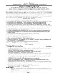 cover letter logistics resume professional logistics resume