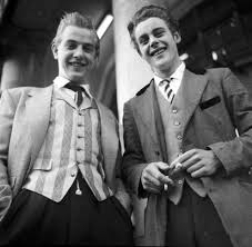 Teddy Boy Drape Original Hipsters The Stylish Teddy Boys Of The 1950 U0027s