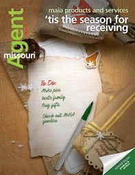missouri agent magazine nov dec 2016 by missouri association of