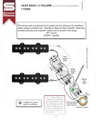 can i get a wiring diagram jazz series parallel push pull tone